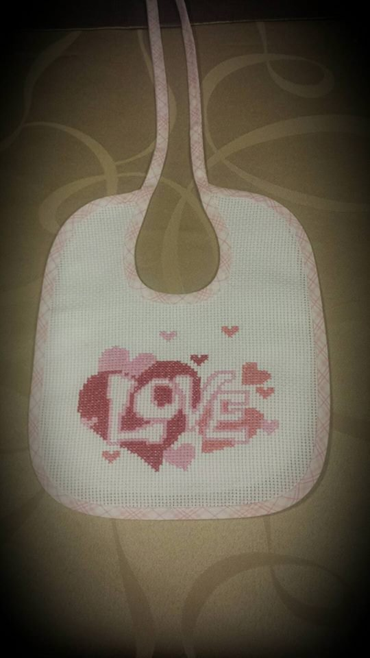 Bavaglino Bimba Love