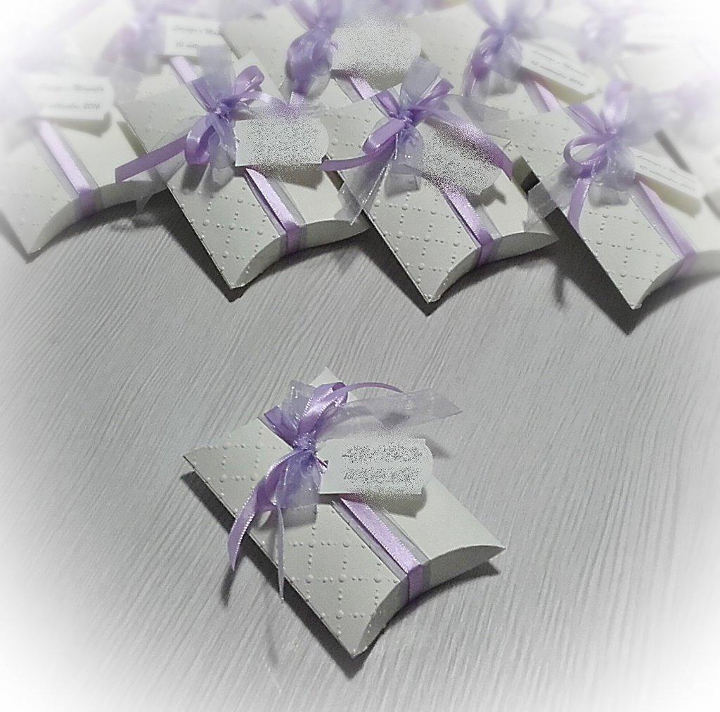 Scatolina porta confetti - bomboniera di nozze