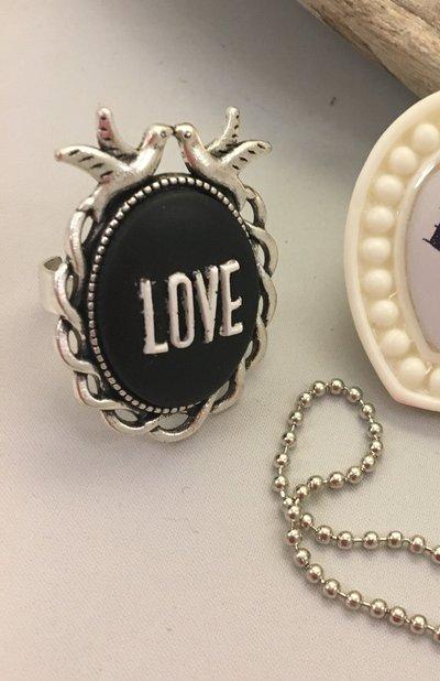 Anello in Resina Love
