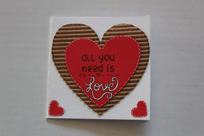 Biglietto san Valentino - All you need is love