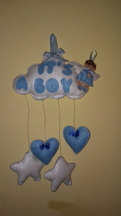 Fiocco nascita it's a boy