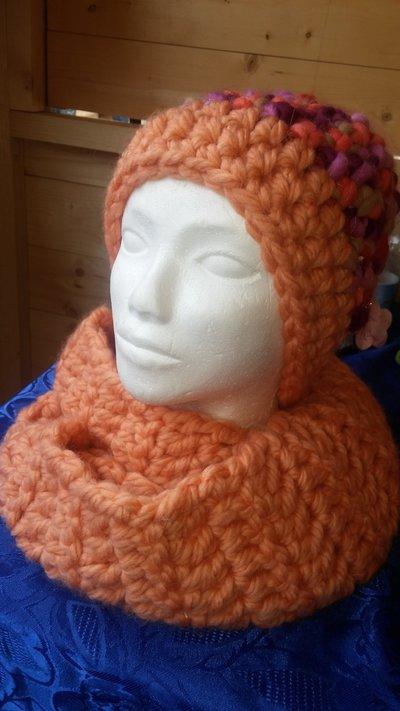 Sciara e cappello in lana