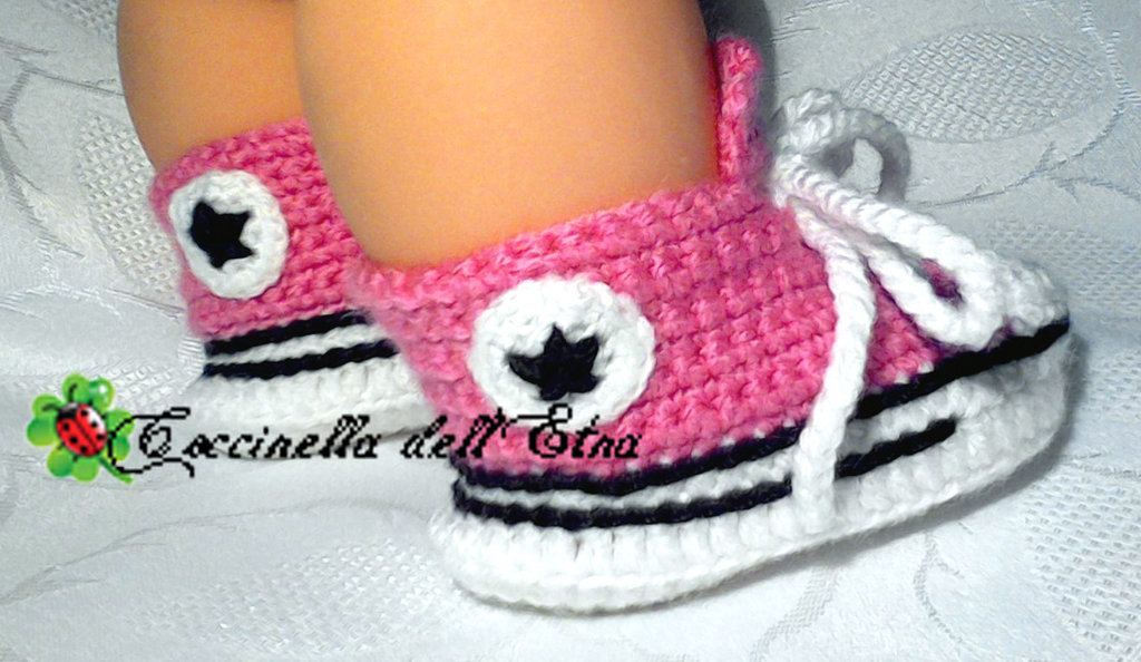 all star converse donna uncinetto