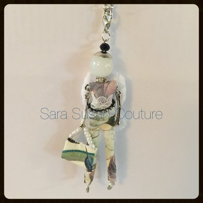 Collana con bambolina – My Little Doll by Sara Susan Couture