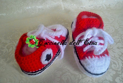 converse baby rosse