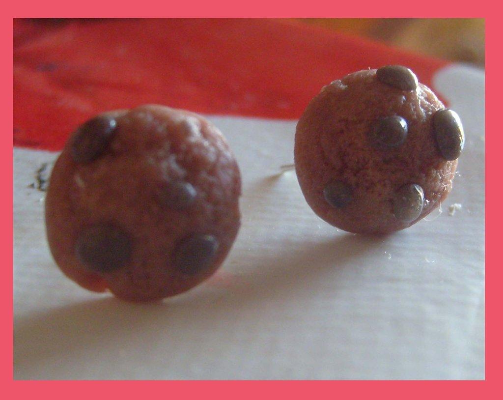orecchini a lobo biscottini