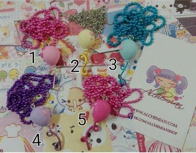 Collana palloncino kawaii, balloons, lolita, sweet in fimo
