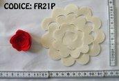 Fustellati Pannolenci Fiori 3D FR21P