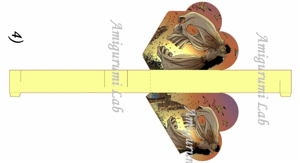 Scatoline cuore stampabili ,printable love box gift-Dylan Dog