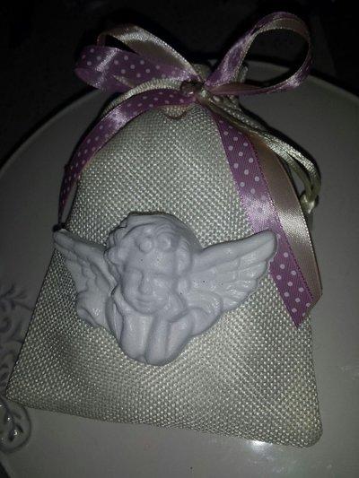 composizioni angelo con sacchetto