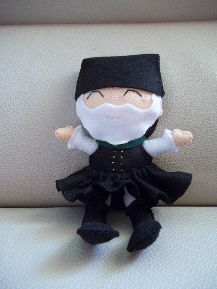 Gavino: Bambola Sarda Uomo in Pannolenci