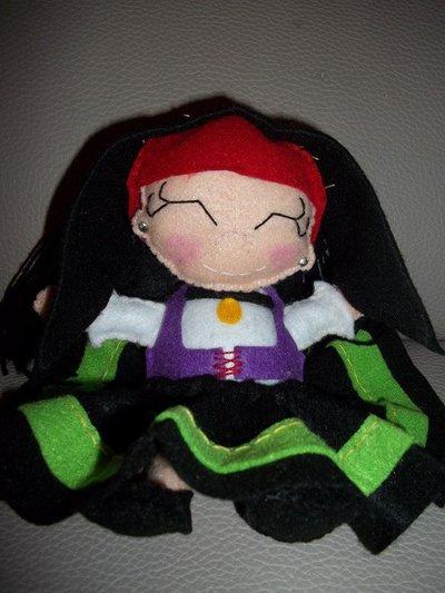 Cicita: Bambola Sarda in pannolenci