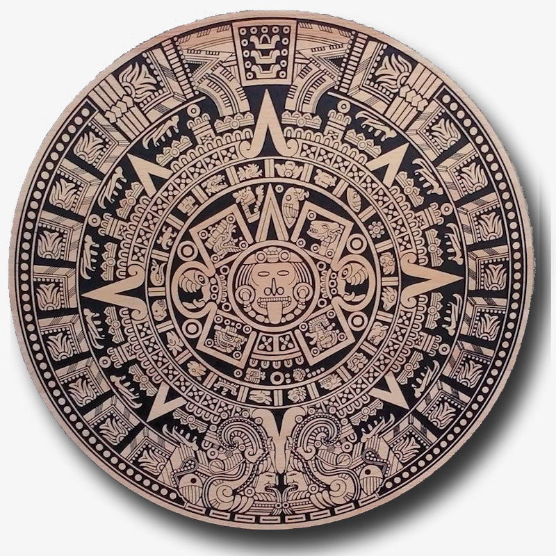 Il Calendario Maya.Calendario Maya Pietra Del Sol