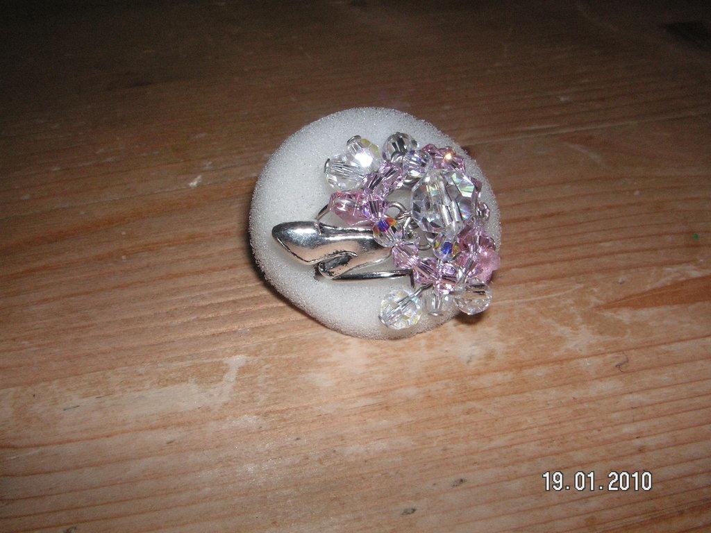 anello swaroski scarpetta
