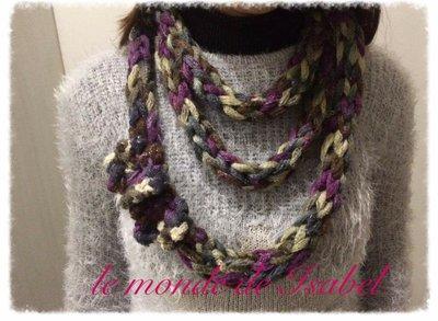 Collana / collo in lana