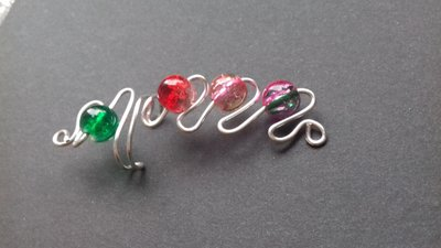 Orecchino piercing Ear Cuff wire