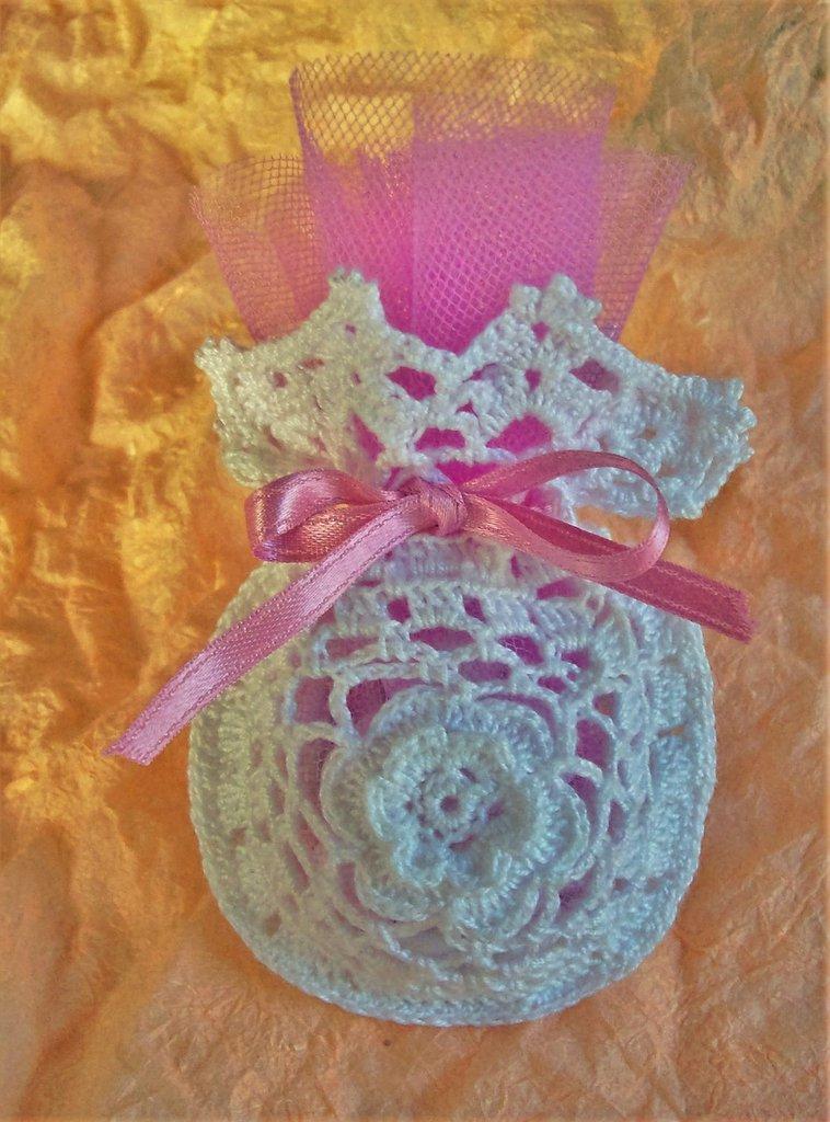 Sacchetto portaconfetti confettata comunione