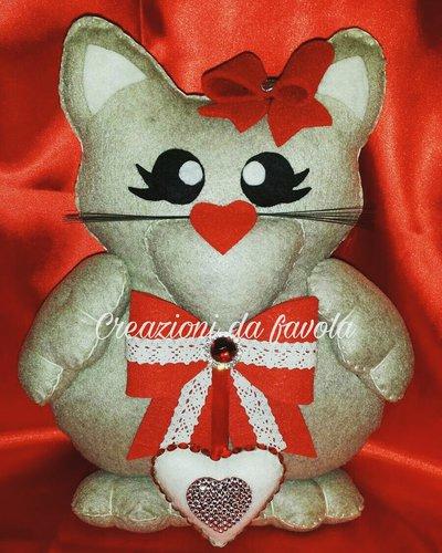 Gattino con cuore