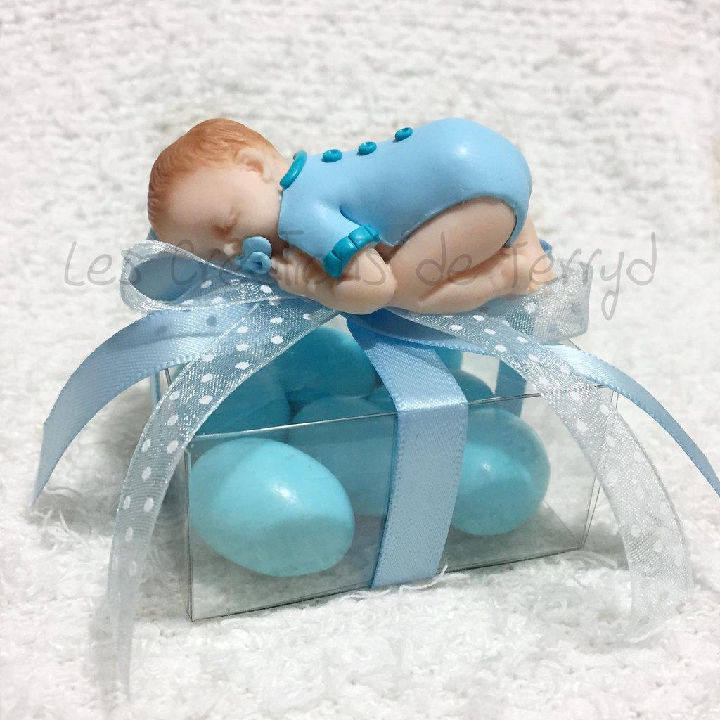 Bomboniere con bimbo per nascita o battesimo