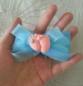 Sacchetto nascita piedini