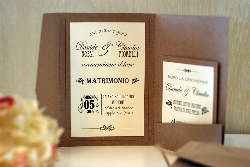 Inviti Matrimonio Country Chic : Partecipazioni matrimonio country chic feste