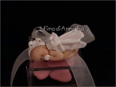 Bomboniere bebè in fimo