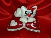 Idea regalo san valentino gattino su cuscino