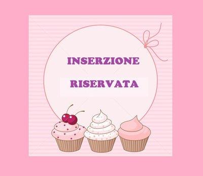 INSERZIONE RISERVATA 22 bomboniere folletta portachiavi numero 1 confezionamento velo rosa a pois