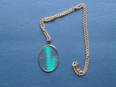 Collana di metallo con ologramma Creazione Originale