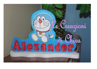 banner Doraemon polistirolo