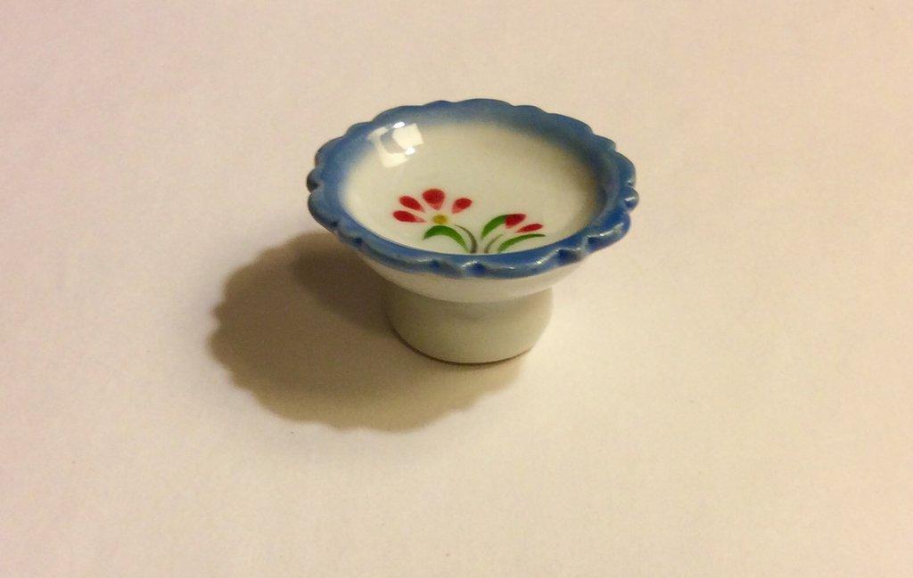 Porta frutta in ceramica dollshouse