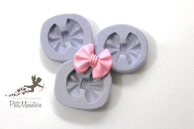 Stampo flessibile silicone fiocco 2,3cm Kawaii dolci stampo Fimo gioielli Charms-Stampo Gioielli-Stampo dollhouse ST272