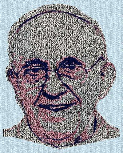 """Ricamo """"Papa Francesco"""""""