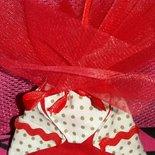 Mini borsa origami portaconfetti laurea