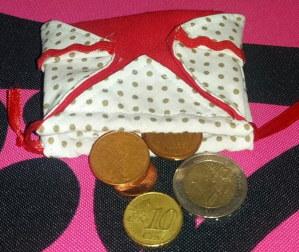 Mini borsa origami porta monete