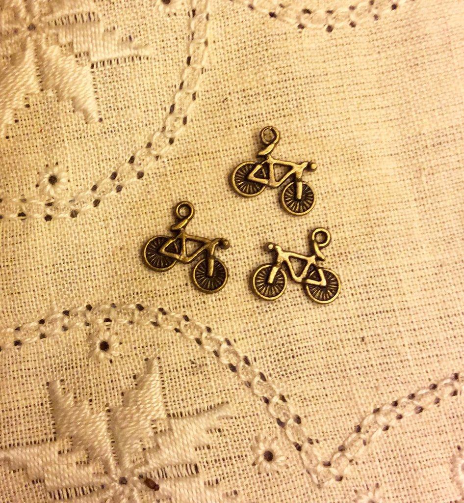 Ciondolo bici set di 3