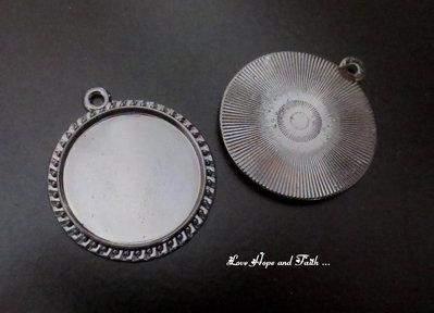 NOVITA'! Base cabochon color argento (dcod.612)