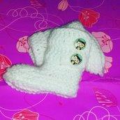 Scarpette scarpine  neonato regalo