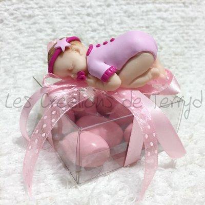 Bomboniera bimba per battesimo o nascita