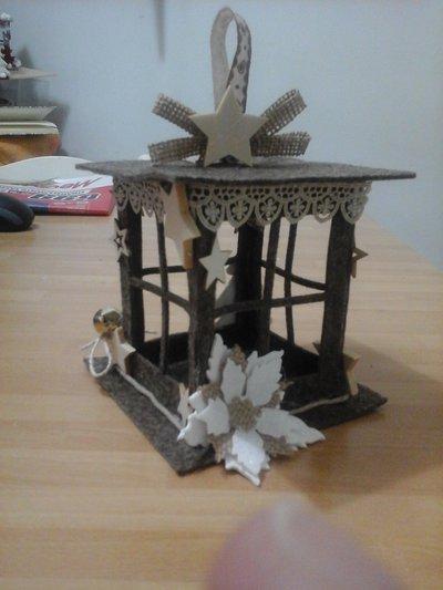 Lanterne in feltro Natale