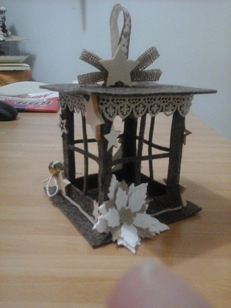Lanterne In Feltro Natale Feste Decorazioni Di