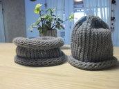 collo e berretto in lana merinos