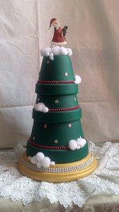 Albero di Natale in Terracotta