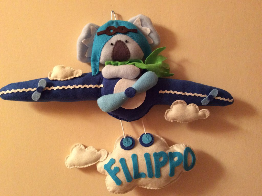 Fiocco nascita Koala pilota 2