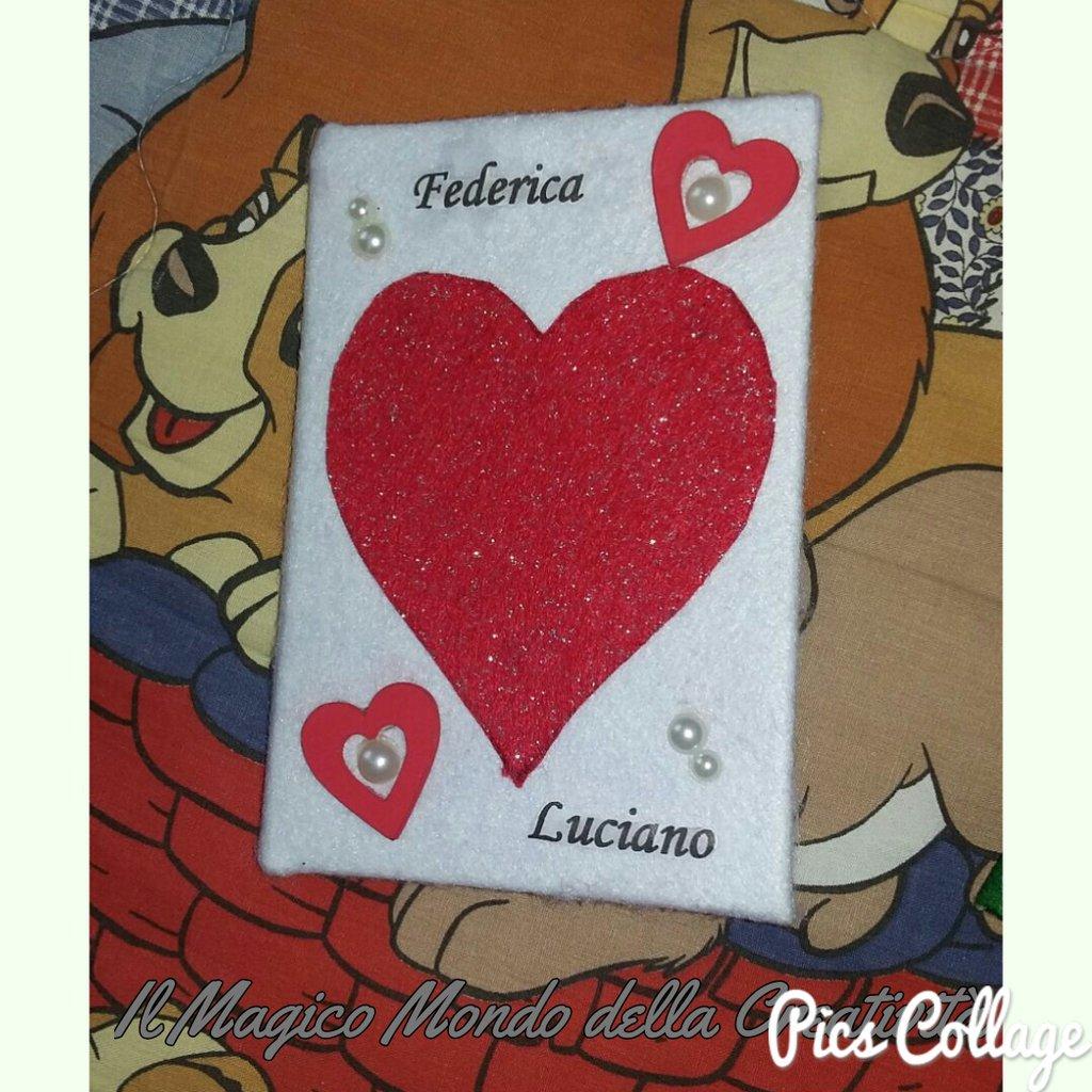 Diario segreto degli innamorati di San Valentino