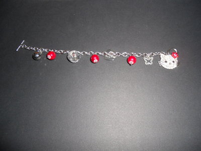 Bracciale charms Hello Kitty