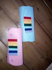 Borsello per matite colorate