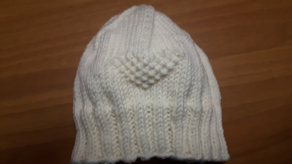 Berretto cappellino neonato 0/6 mesi