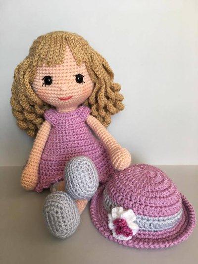 Primo schema, creare la bambola a uncinetto - istruzioni base. | 533x400