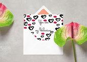 San Valentino - Biglietto stampabile